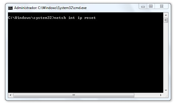 Tutorial para Resetear el WINSOCK en Windows 7